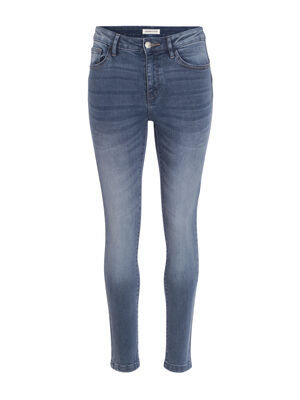 Jean skinny push up denim double stone femme
