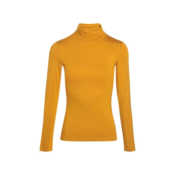 Pull col montant inspiration années 70  femme
