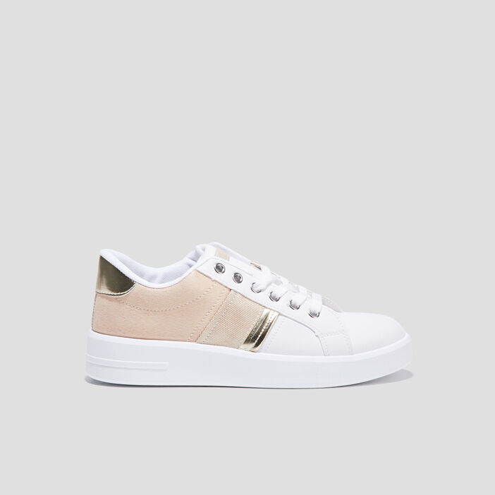 Sneakers plates sable femme