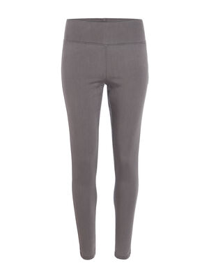 Jegging push up denim gris femme
