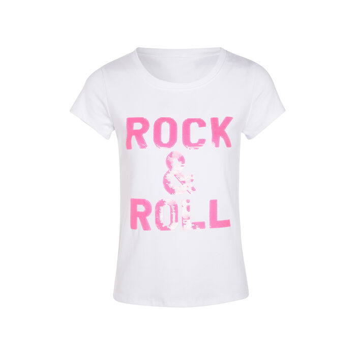T-shirt manches courtes rose framboise femme