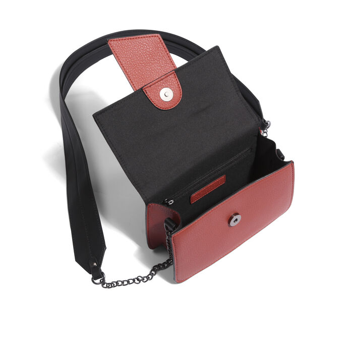 Sac besace rectangulaire  femme