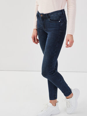 Jeans skinny push up denim blue black femme