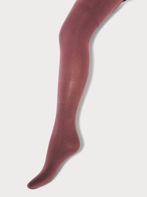 Collants bordeaux femme
