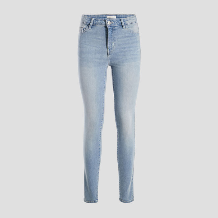 Jeans slim denim dirty femme