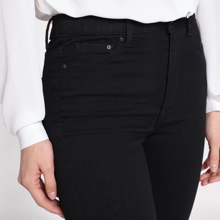 Jeans skinny taille haute used  femme