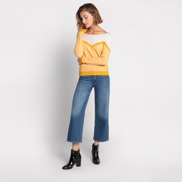 Pull manches longues  femme
