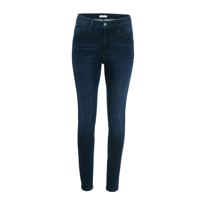 Jeans skinny effet push-up  femme